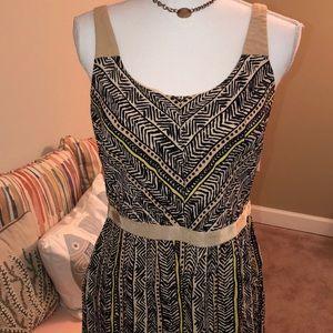 LOFT Tribal Print Dress